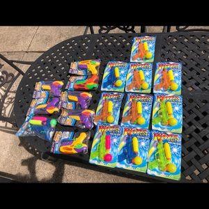 18 NEW kids boy girl Water toys lot bundle, splash